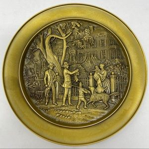 Currier & Ives American Country Life Plate